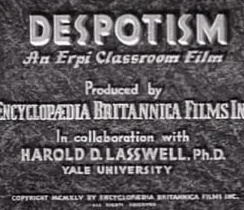 Despotism movie intro