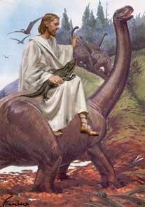 Jesus walked with the dinosaurs