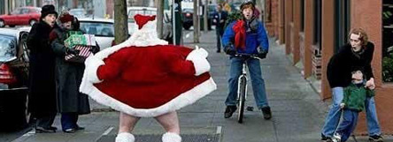 bad santa flasher