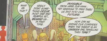 time threat Grant Morrison The Filth